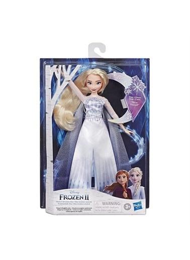 Hasbro Hasbro E8880 Disney Frozen 2 Şarkı Söyleyen Kraliçe Elsa Oyuncak Bebek Renkli